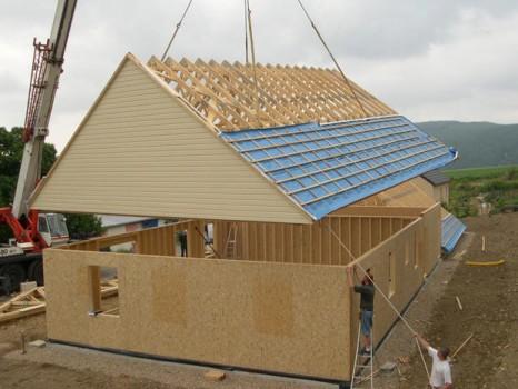 montage toit