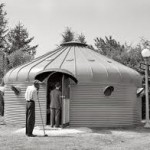 Dymaxion deployment unit par Richard Buckminster Fuller  USA  1944 Logements pour l'armée